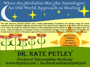 Herbal Astrology Class